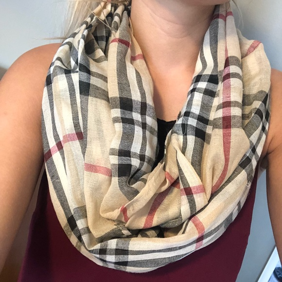 f4ef9cb84 Accessories | Burberry Look A Like Infinity Scarf | Poshmark